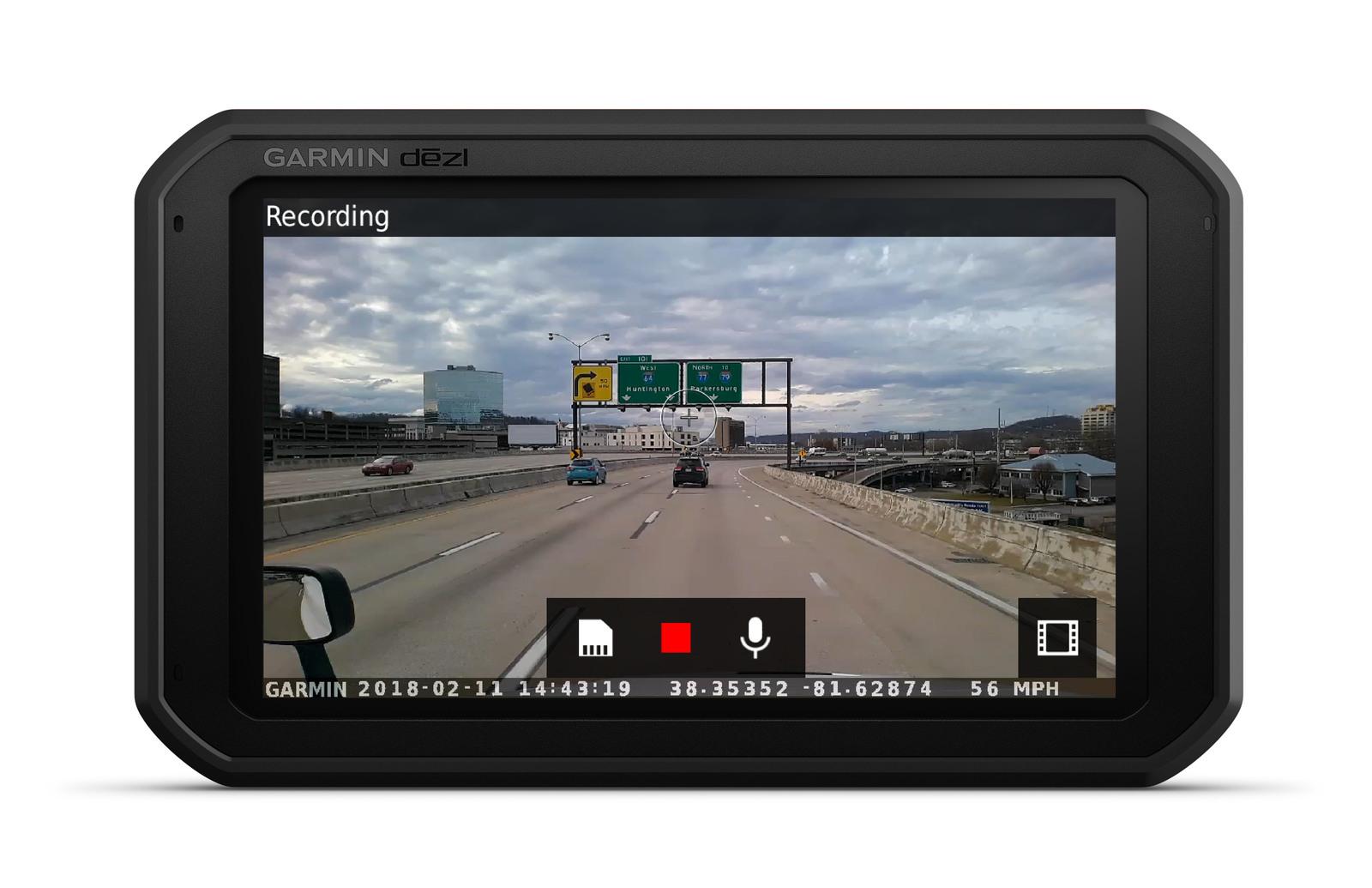 dēzlCam™ 785 LMT-S Truck GPS and Dash Cam